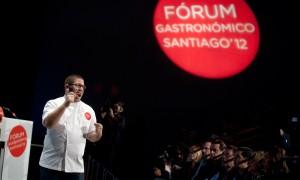 Pepe Solla cierra la tercera edición del Fórum Gastronómico Santiago 2012