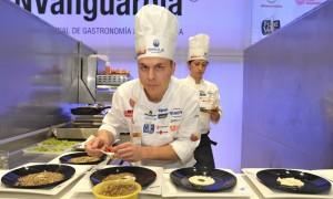 El chef del restaurante 'Samsha' gana la final del Concurso Cocinero del Año