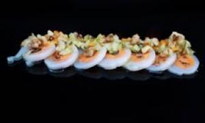 Rulo de Calamar + Mejillón + FrutosSecos