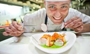 Las #microreceta de Rodrigo de la Calle, el cocinero más verde