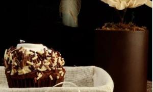 Cupcakes de fruta cristalizada y Grand Marnier