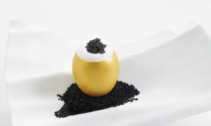 Huevo de Oro, un aperitivo más chic para estas fiestas