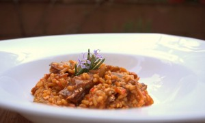 Video-Receta: Arroz con Setas y Alcachofas
