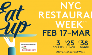 Regresa New York Restaurant Week