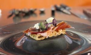 Cuatro platos, un producto: el jamón ibérico