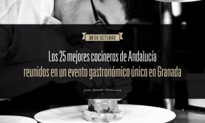 Los 25 mejores chefs andaluces cocinarán en Granada