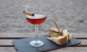 Apple smocake cocktail