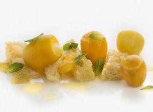 Naranjas mini y camu camu de Elena y Juan Mari Arzak