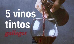 5 vinos tintos gallegos que debes probar