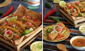 Fish Tacos and Chives Alioli