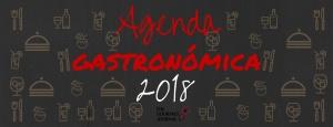 Agenda gastronomica 2018