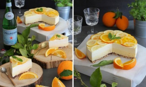 Orange and Lemon Mousse