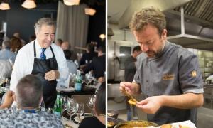 Nacho Manzano y Juan Muñoz, el equilibrio perfecto entre plato y copa