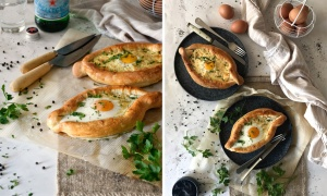 Khachapuri: Pan de Queso Georgiano