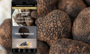 The coveted Black Truffle, just one click away from your mobile