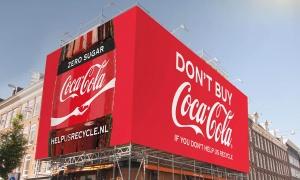 Coca-Cola no quiere que compres sus bebidas si no vas a reciclar