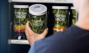 Las nuevas máquinas expendedoras de ensaladas frescas