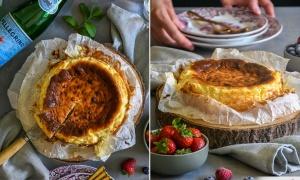 Cheesecake from 'La Viña'