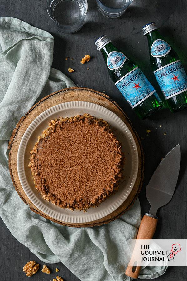 Baumkuchen y San Pellegrino
