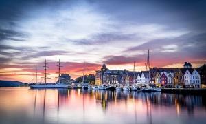 Bergen, deliciosa Noruega costera