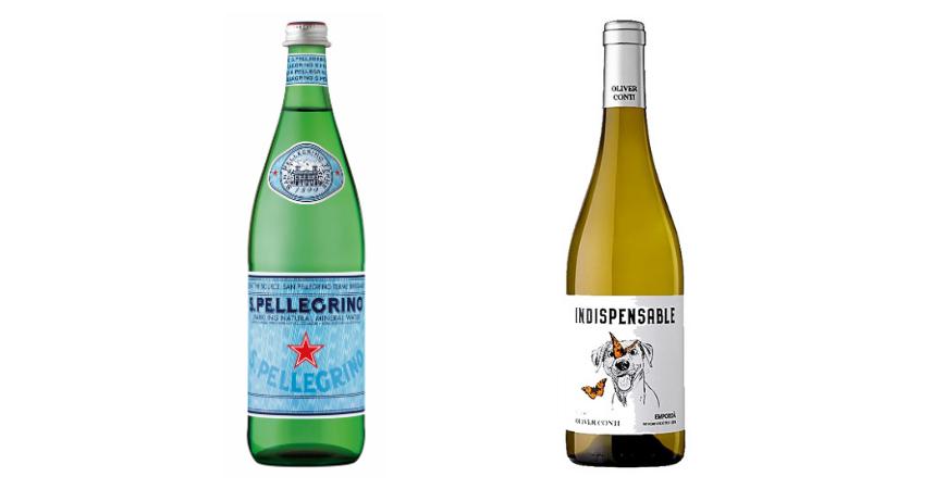 S.Pellegrino e Indispensable Blanco