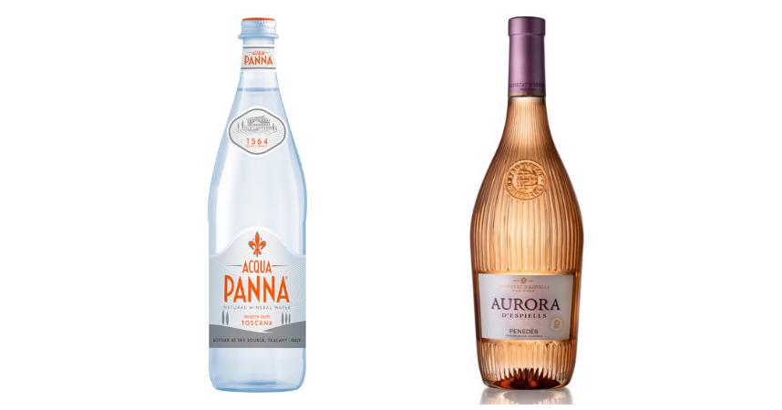 Acqua Panna y Aurora