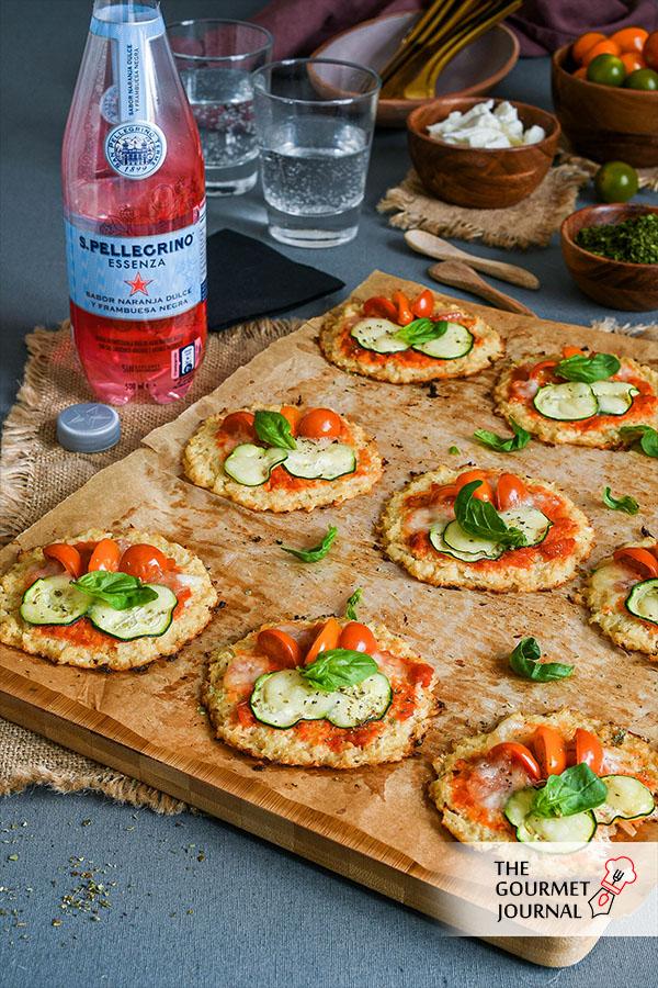 Mini Pizzas de Coliflor