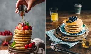 Tortitas o Pancakes caseras