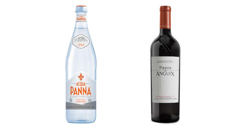 Acqua Panna y Pagos de Anguix