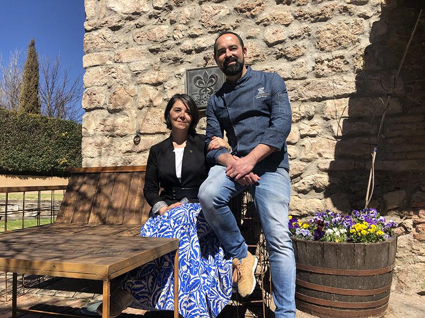 Blanca y Samuel Moreno
