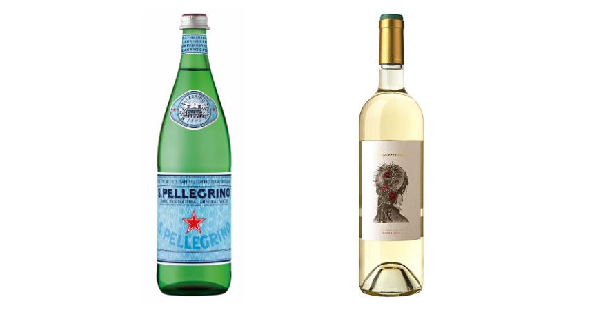 S.Pellegrino y Fenomenal Suavignon Blanc