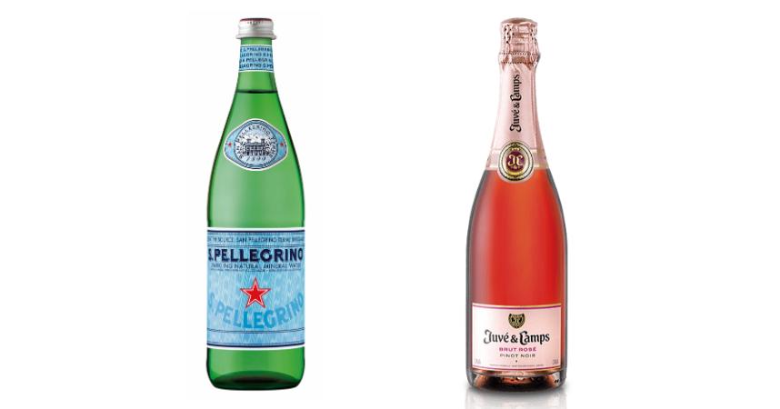 S.Pellegrino y Juvé & Camps Pinot Noir