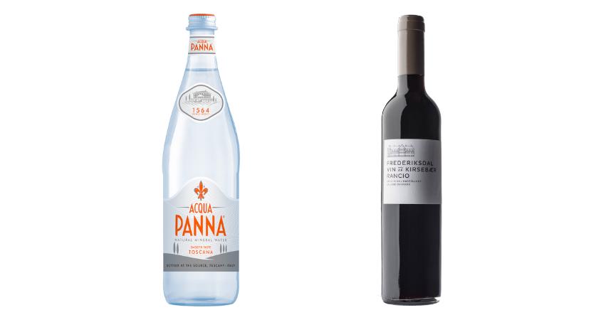 Acqua Panna y Frederisksdal Rancio