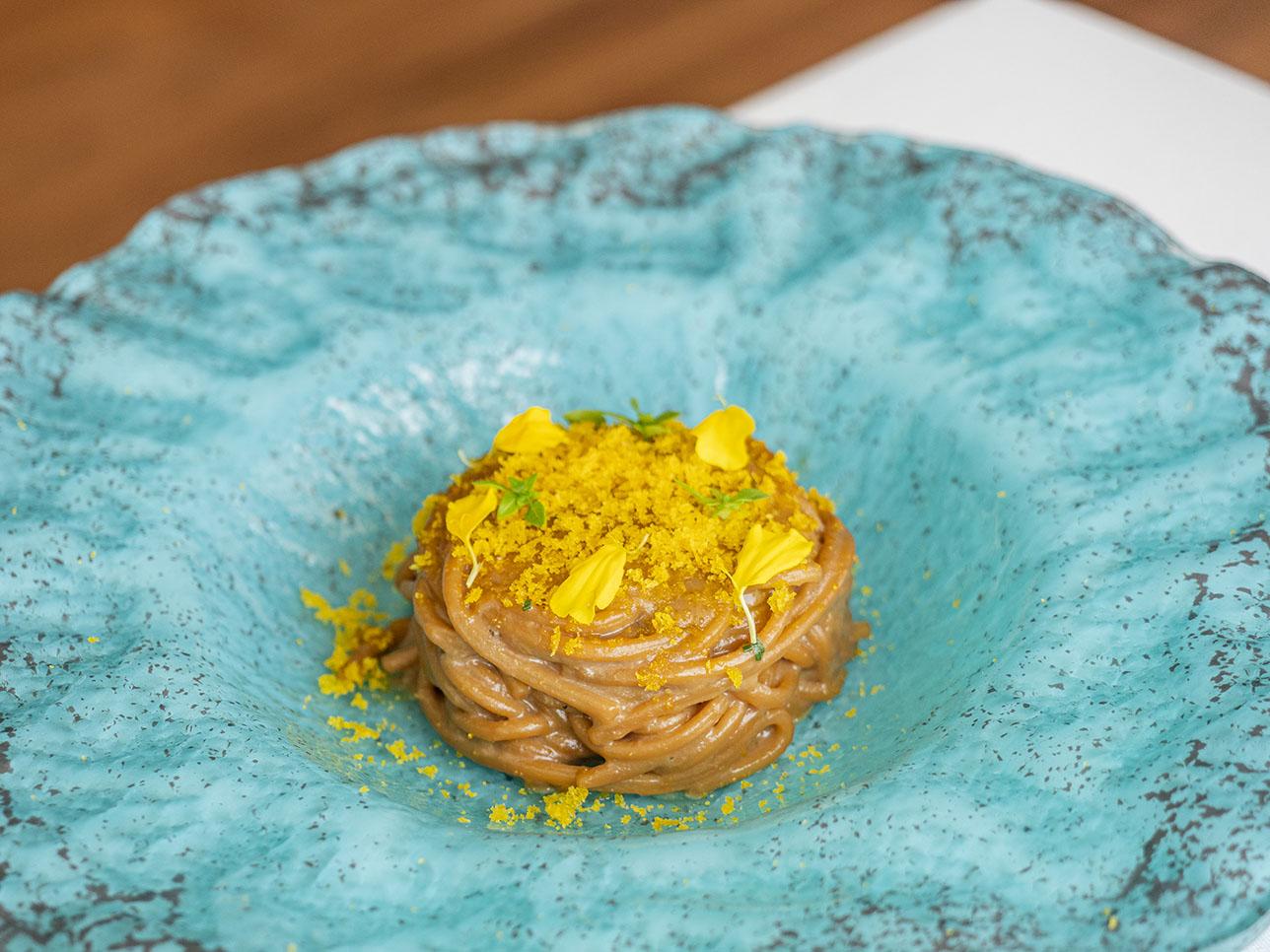 Spaghetti alla carbonara de galera de Ferdinando Bernardi