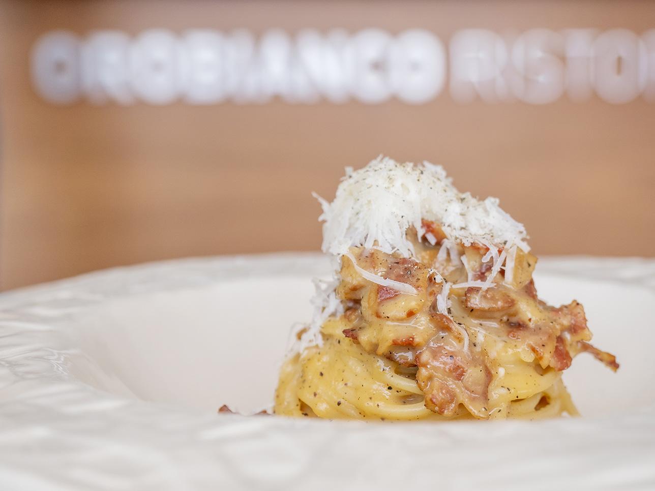 Spaghetti alla carbonara. Foto: César González de Tragaldabas Profesionales