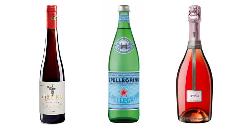 S.Pellegrino, Elyssia Rosé Pinot Noir y Ojuel