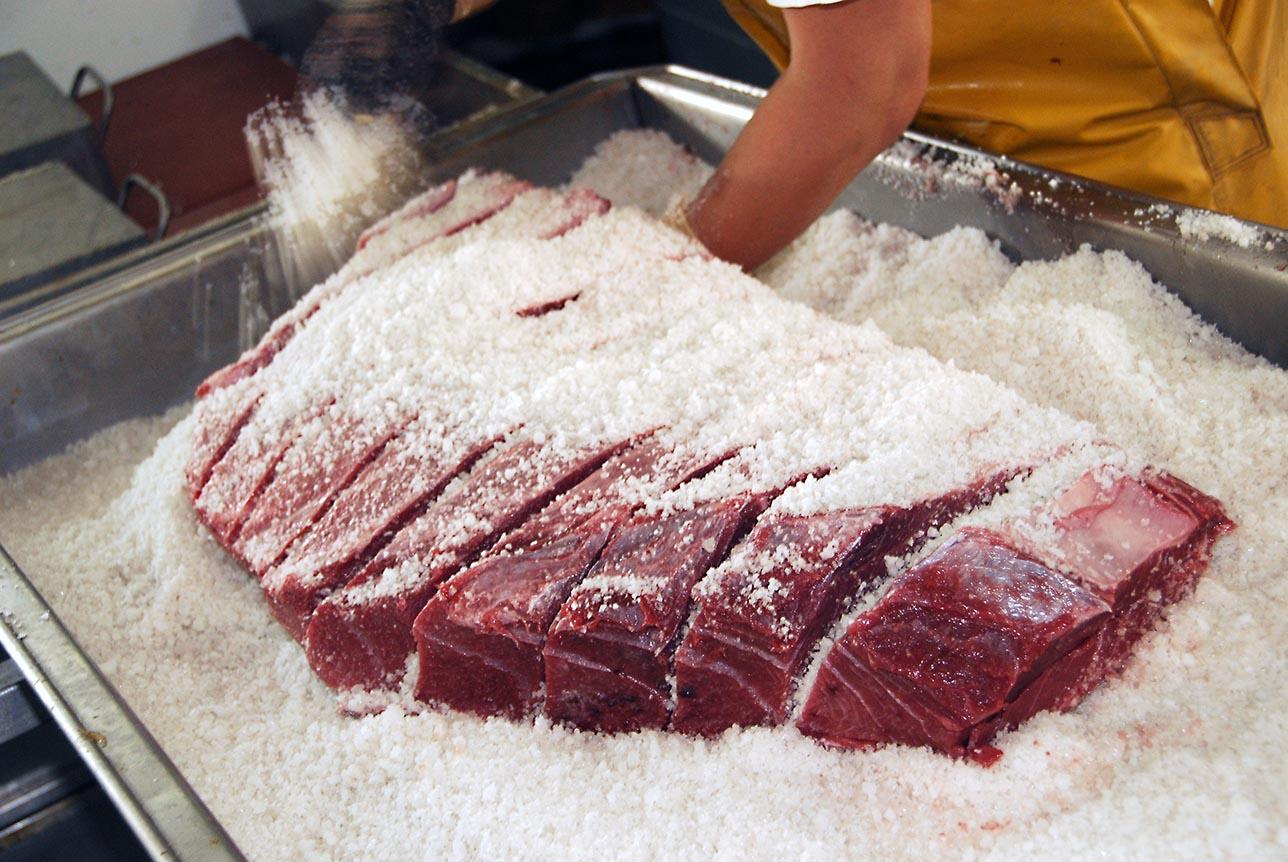Salado del atún