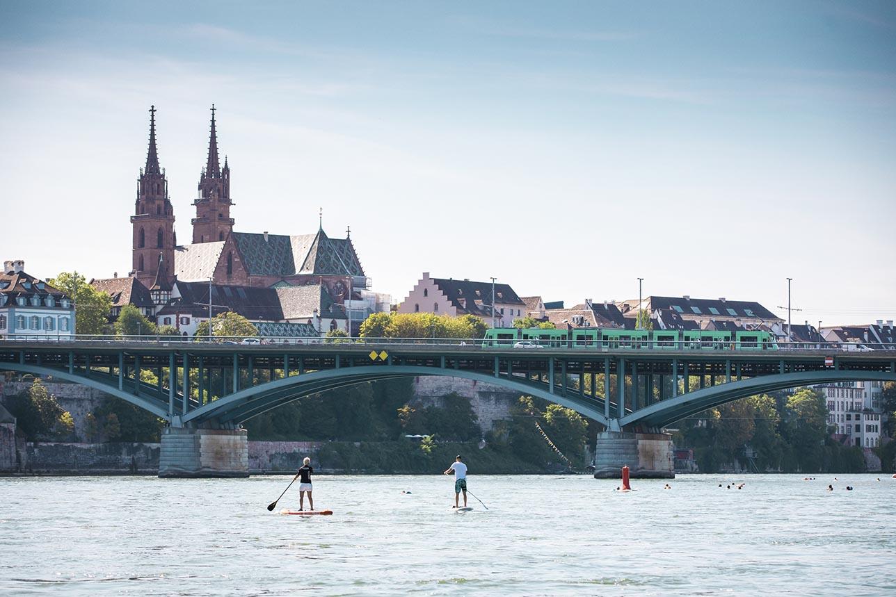 Vistas a la Catedral de Basilea